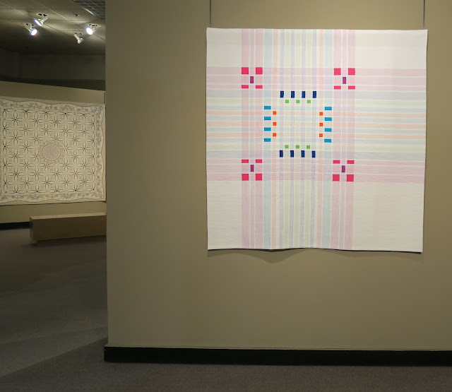 Quilt Museum in Paducah - Infused Plaid by Cassandra Beaver