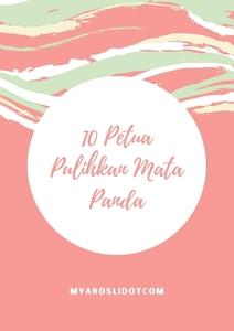 10 Petua Pulihkan Mata Panda