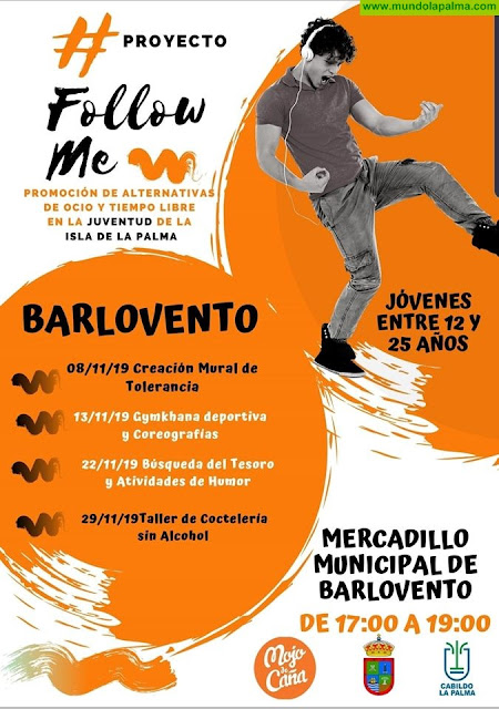 """Proyecto """"Follow Me"""" en el Mercadillo Municipal de Barlovento"""