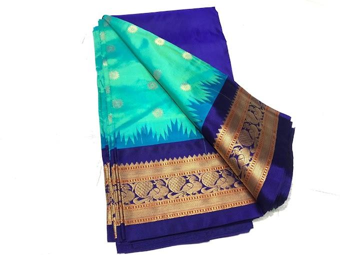 New Narayanpet Handloom Silk Saree