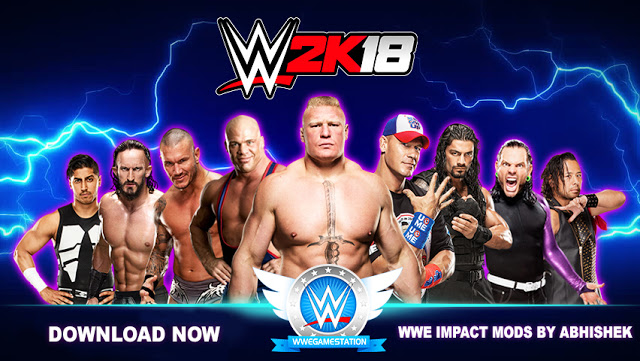 WWE 2K18 PC GAME FREE DOWNLOAD HIGHLY COMPRESSED