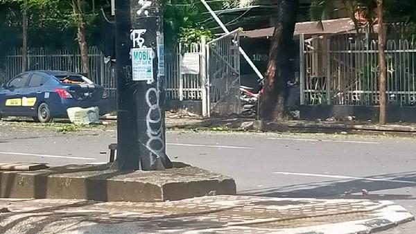 Ada Potongan Tubuh Terlihat di Depan Gereja Katedral Makassar
