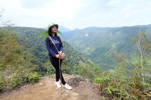 panorama harau dari ketinggian