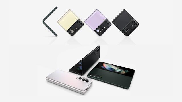 Samsung Galaxy Z Flip3 vs. Samsung Galaxy Z Fold3