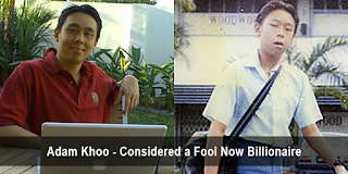 Biography of Adam Khoo - Formerly The Fool Is Now A Billionaire
