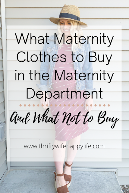 What to buy in the maternity department and what not to buy