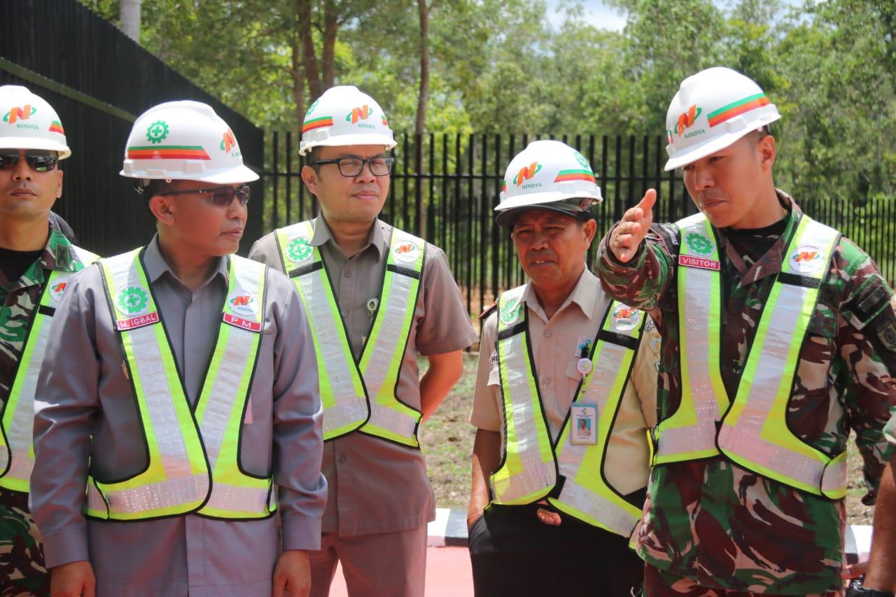 Jelang Peresmian, Tim Kemenko Polhukam Tinjau PLBN Di Distrik Sota