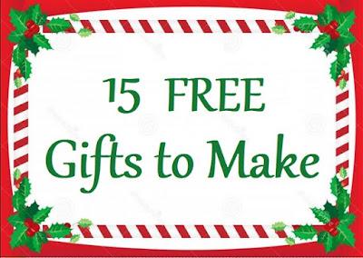 15 FREE Gifts to Make