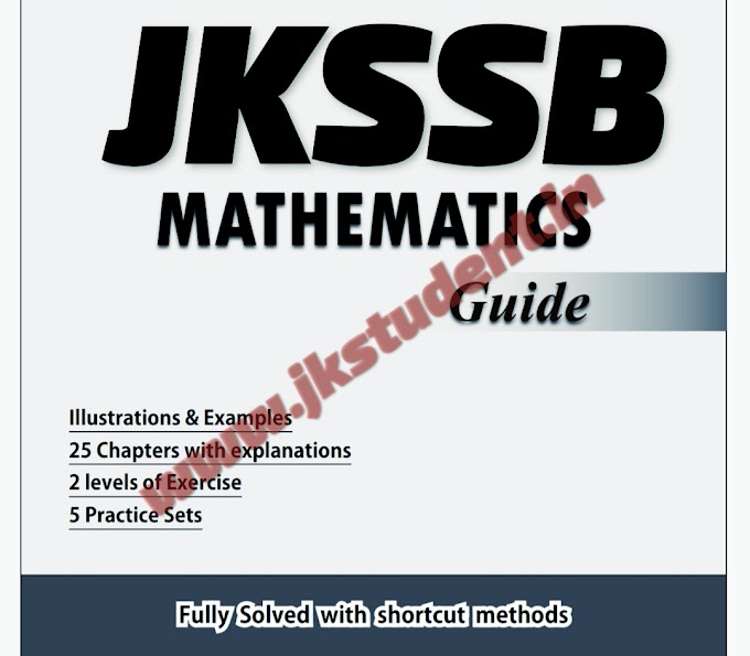 Download Best Mathematics Book For JKSSB And Other Competitive Exams Free PDF