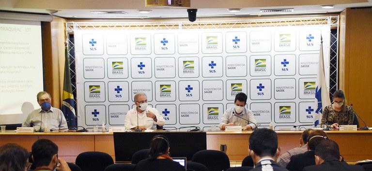 Espanha doará 80 mil de medicamentos ao Brasil para 'kit intubação'