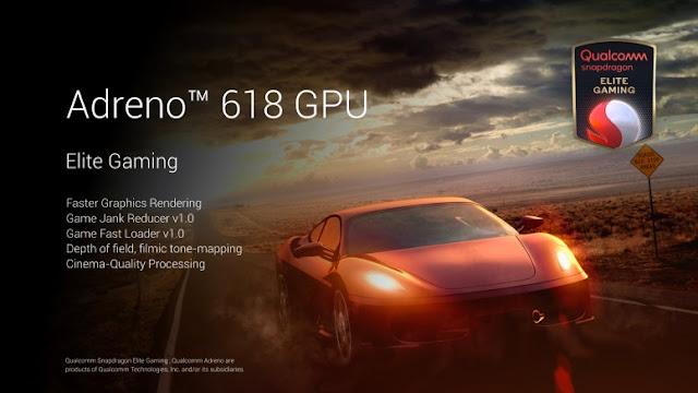 Redmi Note 9 Pro Max Adreno 618 GPU