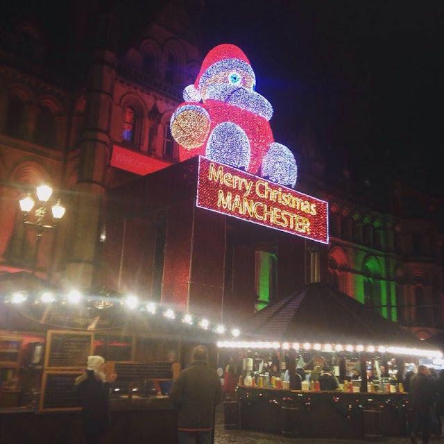 Manchester Christmas Market - Albert Square