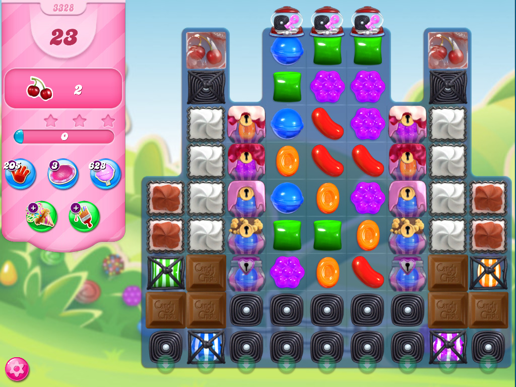 Candy Crush Saga level 3328