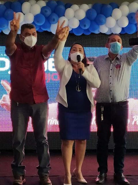 Edjane Araújo (PDT), será vice de Lenildo Morais (PT), nas eleições deste ano em Patos