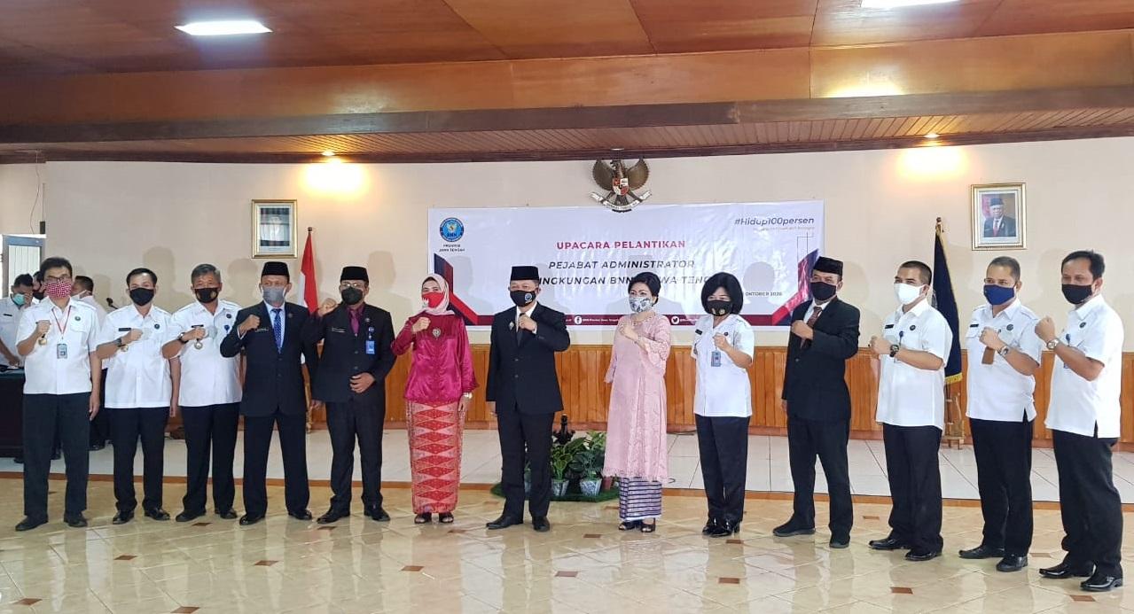 AKBP. Sharlin Tjahaja Frimer Arie, SH, M.Si Jadi Komandan Baru BNN Purbalingga