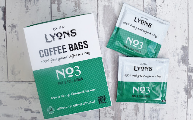 Lyons Coffee Bags No3