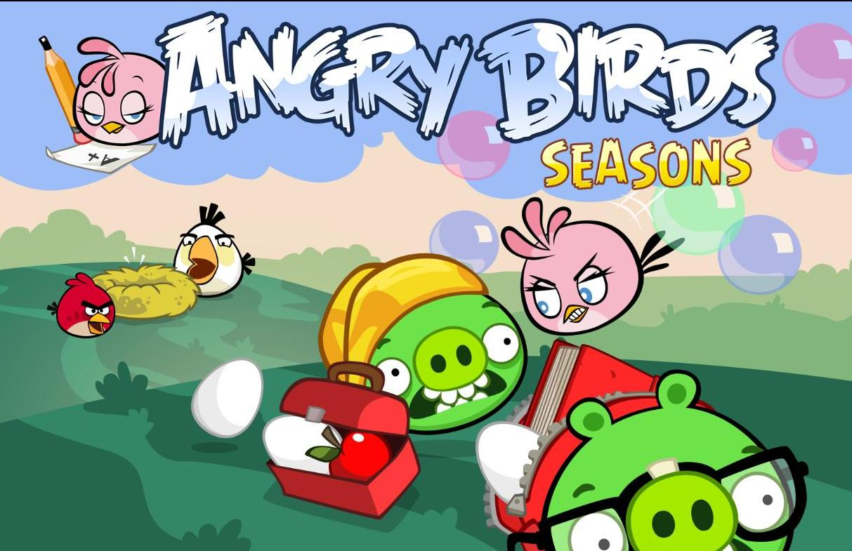 Angry birds season videos