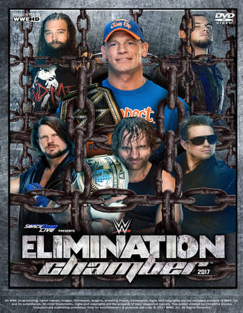 WWE Elimination Chamber 2017 PPV 700MB HDTV 480p x264