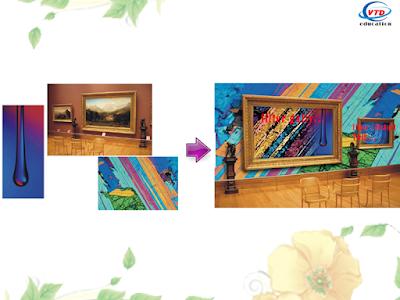 Bài tập mẫu của lớp học đồ họa photoshop tại Bắc Từ Liêm
