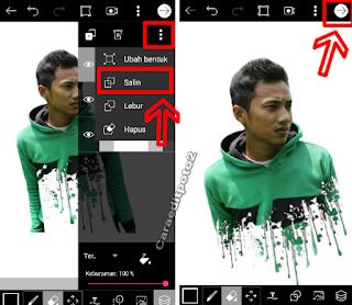 Tutorial edit foto splatter effect