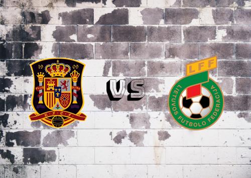 España vs Lituania  Resumen y Partido Completo