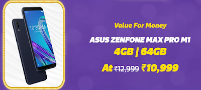 Flipkart Big Billion Days 2018 Offers on Asus Smartphones - VedTech.xyz