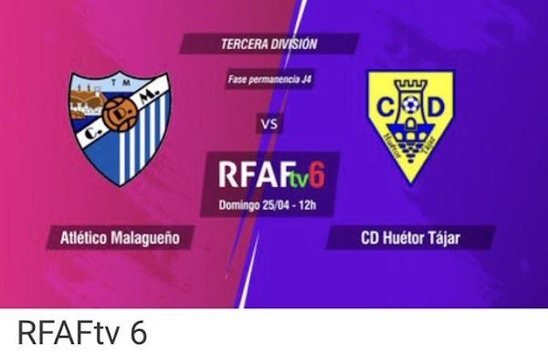 La RFAF pone el escudo del CD Málaga al Malagueño en el choque ante el Huétor Tájar