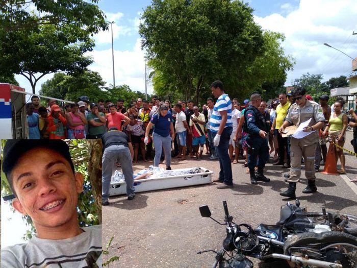 MARABÁ - MOTOCICLISTA MORRE EM GRAVE ACIDENTE NA FOLHA 17 – VEJA FOTOS..
