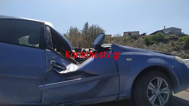 Κόρινθος: Οδηγός με το αυτοκίνητο του κάρφωσε σε ελιά και ανετράπη