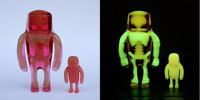 Rose Moon Anatoma Stranger Glow in the Dark Resin Figure by Flawtoys