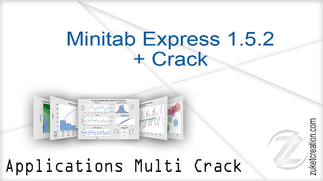 Minitab Express 1.5.2 + Crack  | 153 MB