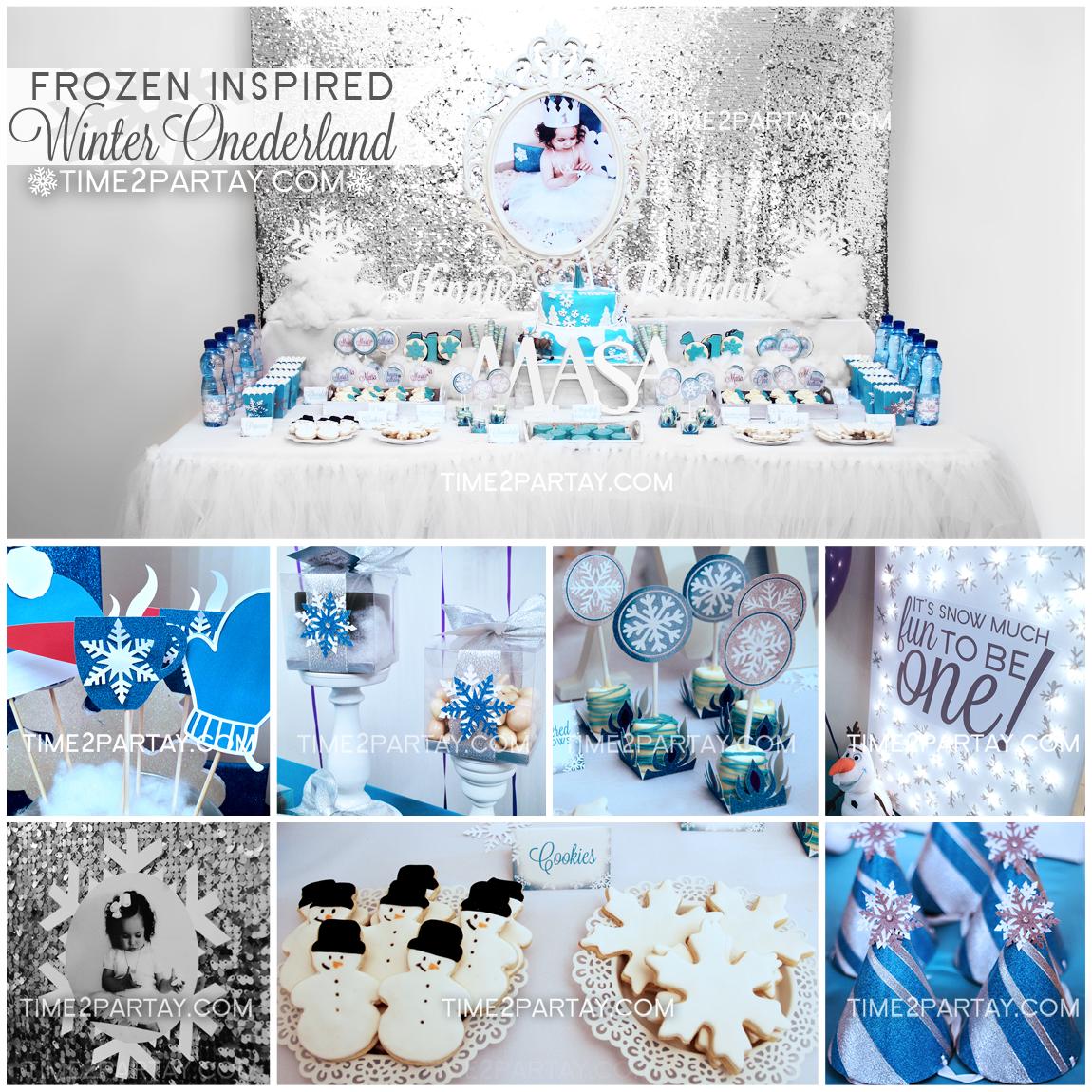 Masa's Frozen Inspired Winter ONEderland