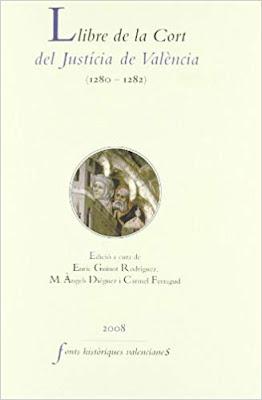 Llibre de la Cort del Justicia de Valencia, 1280