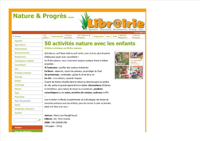 http://www.docverte.be/livres/pourlesparents/50activitesnatureaveclesenfants.php