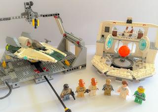 7754 Home One Calamari Star Cruiser Lego Star Wars