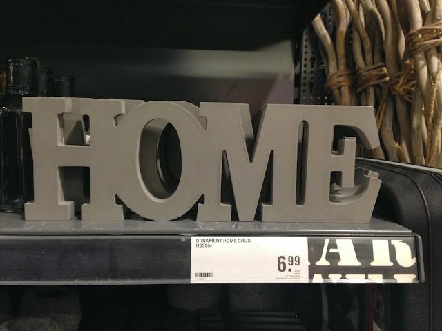 HOME letters karwei