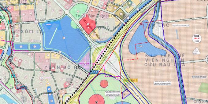Những MẢNH ĐẤT sẽ được đào  HỒ LỚN ở quận Long Biên Hà Nội ???