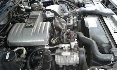 Ford 302 V-8 engine Milwaukee