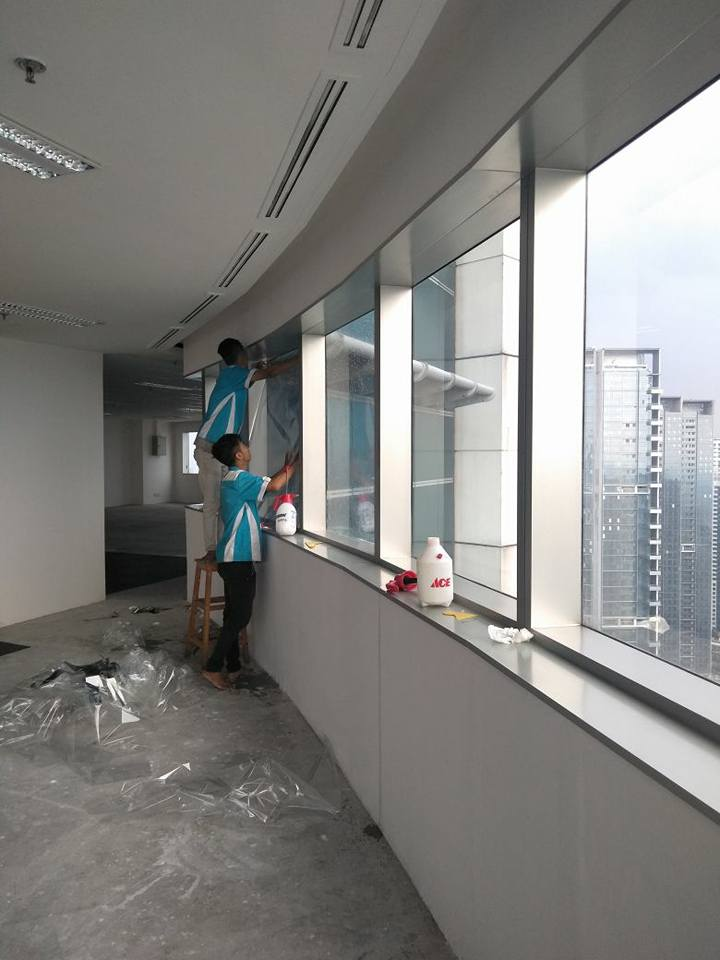 pasang kaca film hotel Mustika Jaya Bekasi