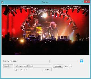 الكاميرا الافتراضية  KVYcam