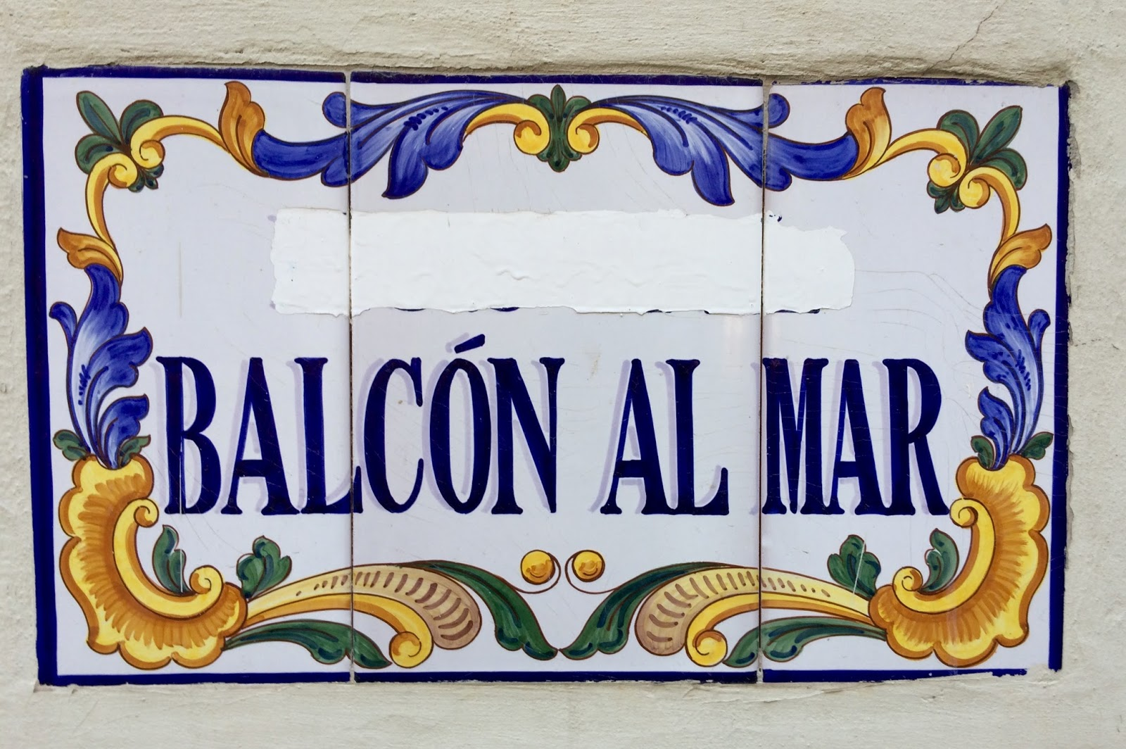 Margaret Shepherd: Calligraphy Blog: Spain\'s street names in ceramic ...