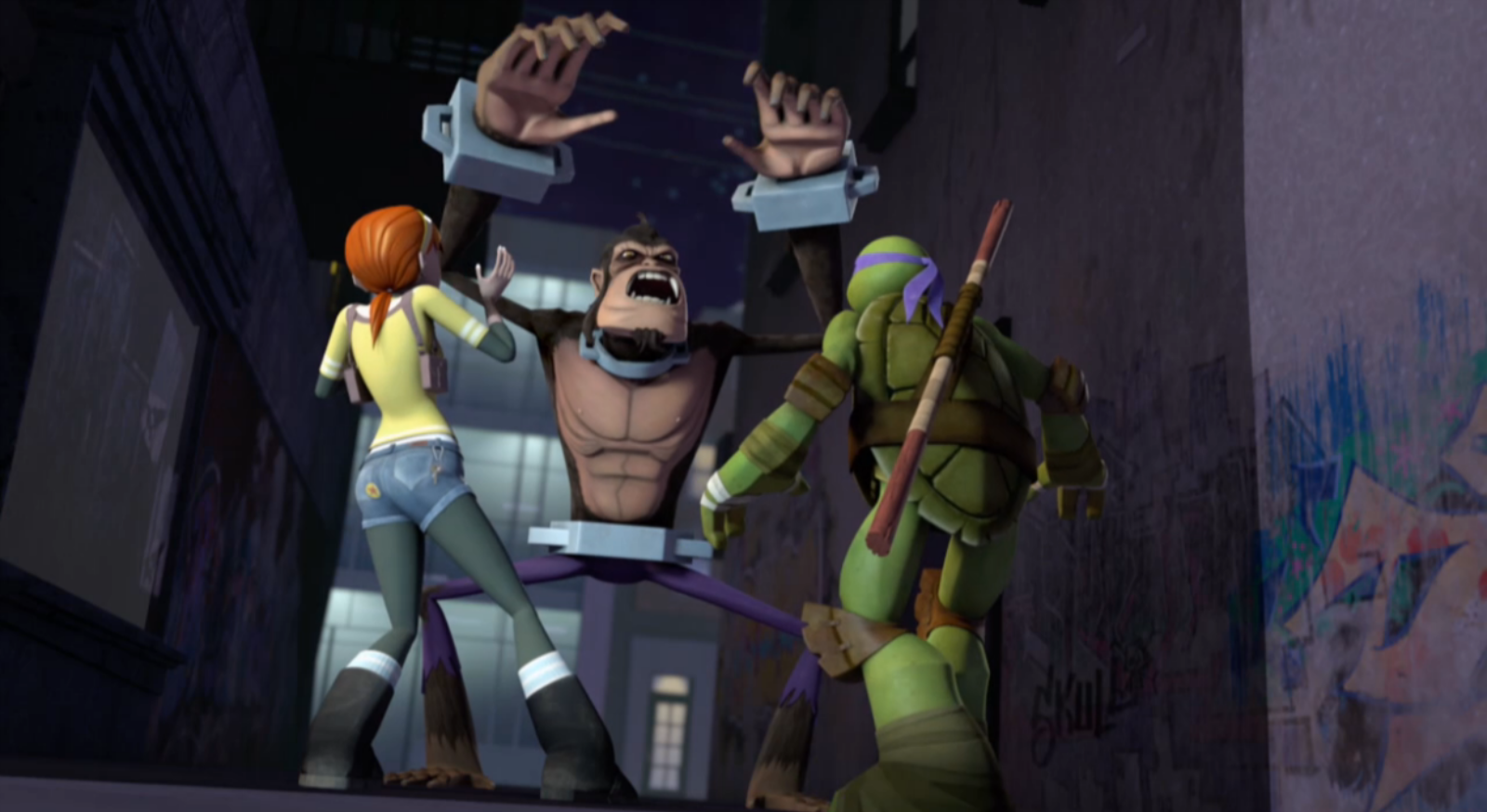 Ninja Turtles Sinhala ep7