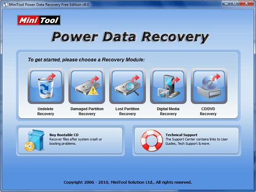 MiniTool Power Data Recovery 8 (2018) Download