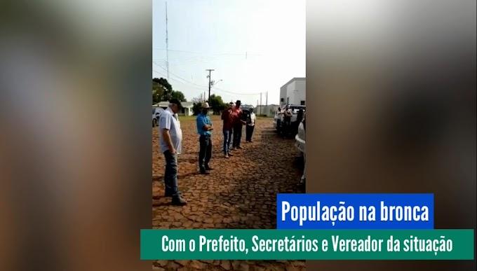 Cantagalo: População se revolta com prefeito por se negar a construir ponte na divisa com Candói