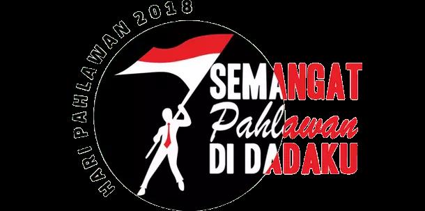 Pedoman, Tema dan Logo Peringatan Hari Pahlawan Tahun 2018