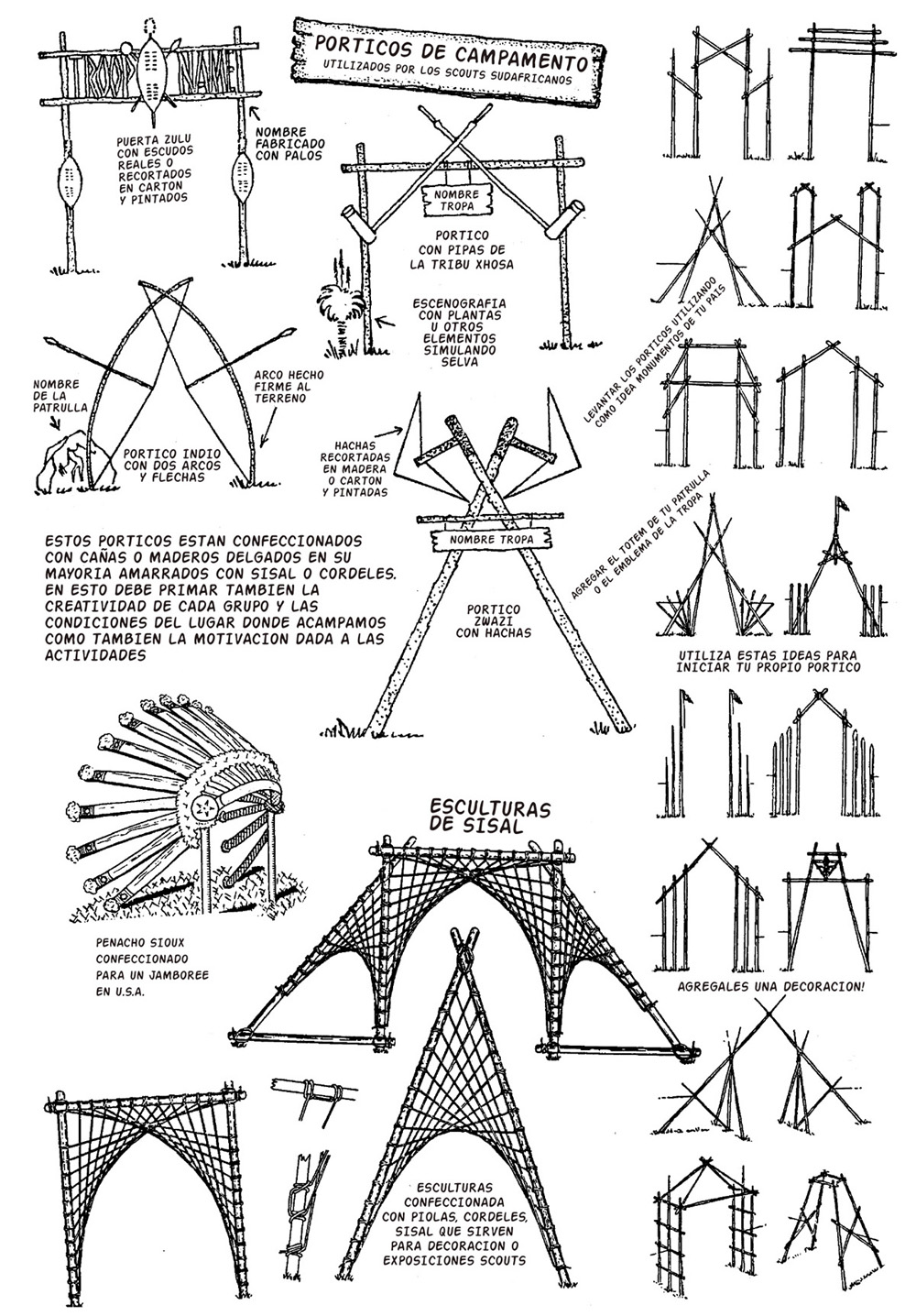 The Boy Scouts suggested these modifications for your