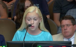 VIDEO: Adults shout down 13-year-old comparing abortion to slavery, but she keeps going
