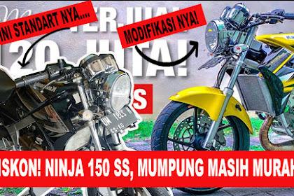 Harga Ninja SS Bekas Semarang, Diskon Akhir Tahun