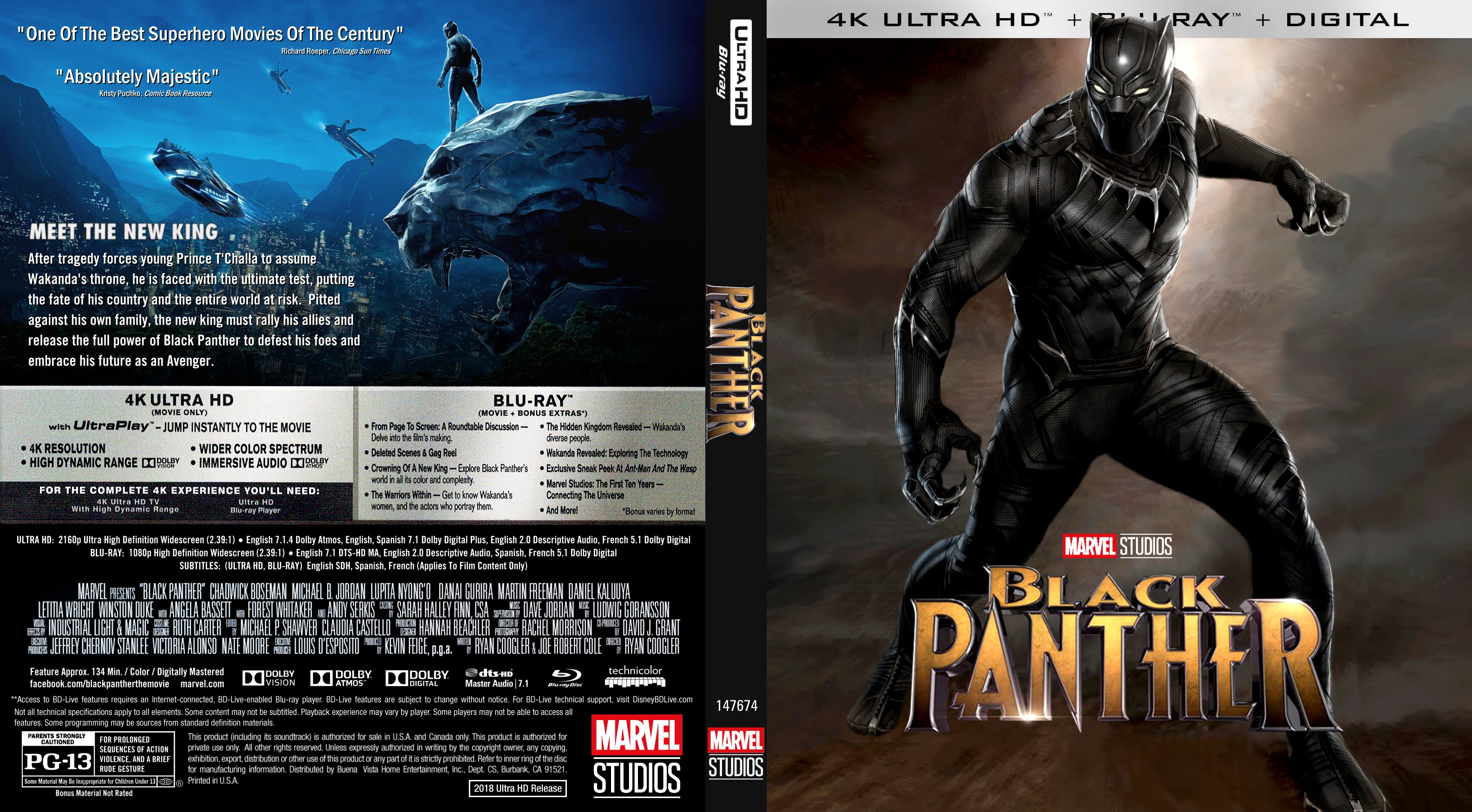 Black panther blu-ray release dates