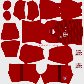 FC Bayern Muenchen Kit 2019-2020 for Dream League Soccer 2020